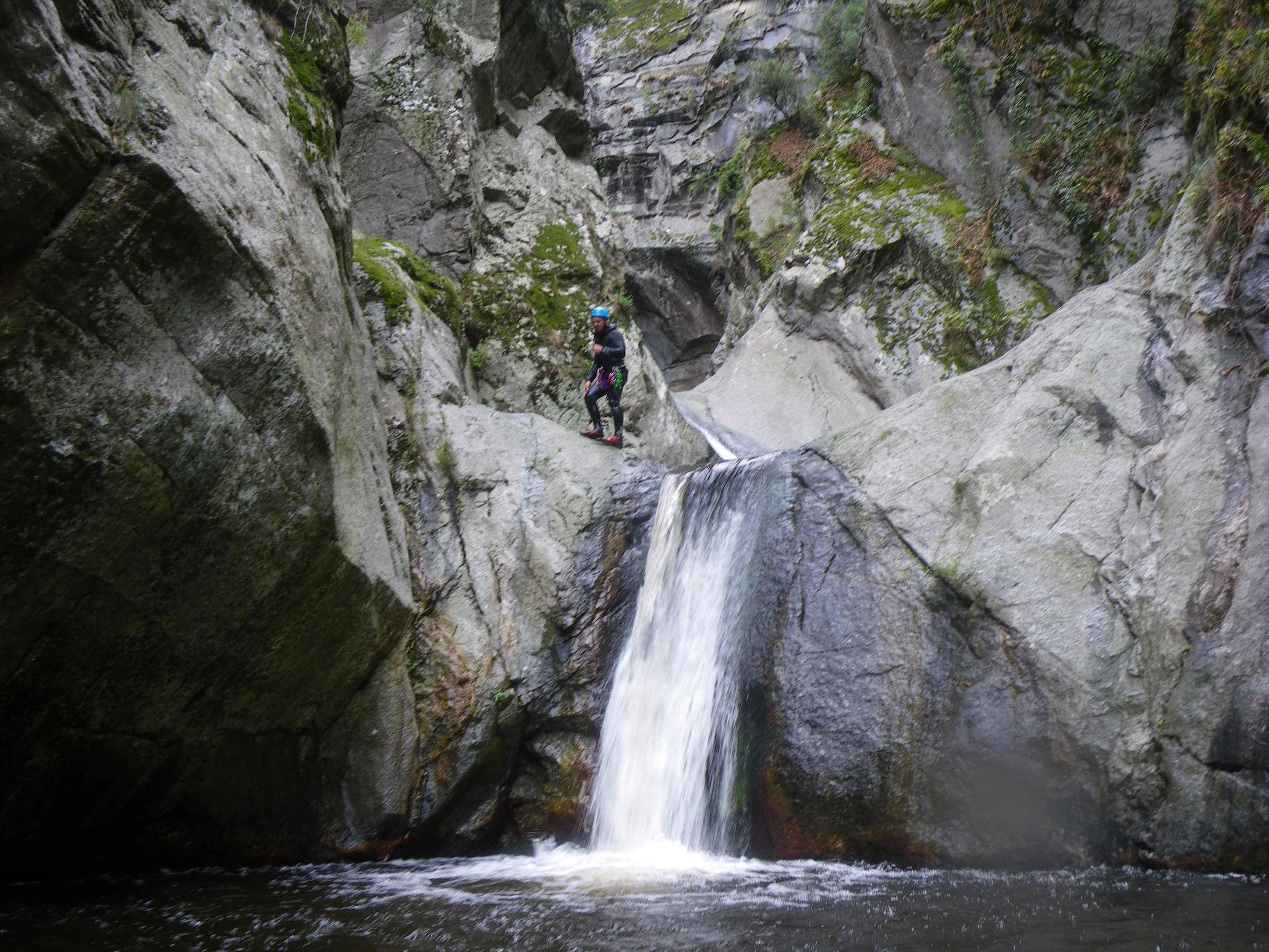 canyoning toboggans